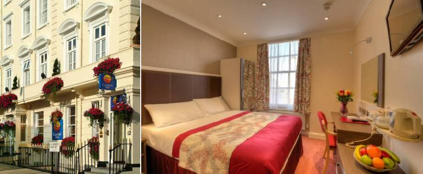 Comfort Inn Buckingham Palace Road em Londres