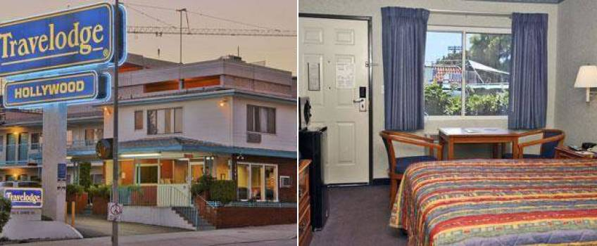 Hollywood Travelodge em Los Angeles