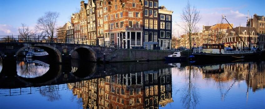 Albergues no Centro de Amsterdam na Holanda