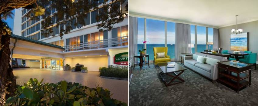 Courtyard By Marriott Beach em Fort Lauderdale