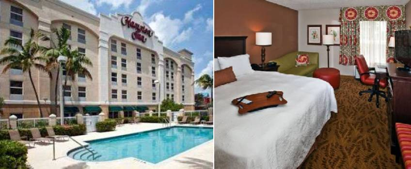 Hampton Inn Ft Lauderdale-Airport North em Fort Lauderdale