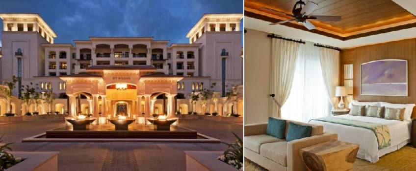 The St Regis Saadiyat Island Resort em Abu Dhabi