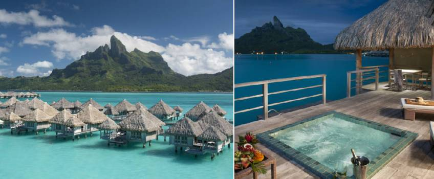 The St Regis Resort em Bora Bora