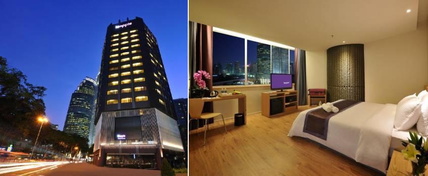 Le Apple Boutique Hotel  KLCC em Kuala Lumpur