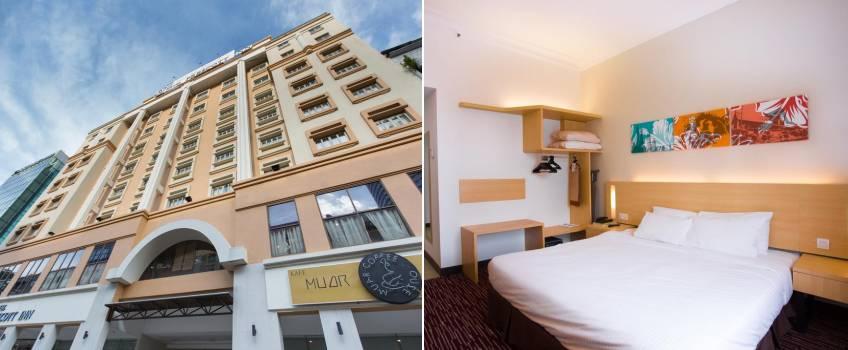 Prescott Hotel Medan Tuanku em Kuala Lumpur