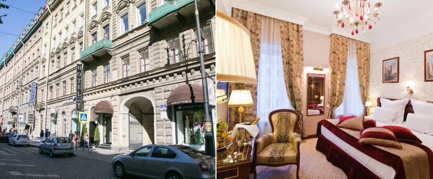 Golden Triangle Boutique Hotel em São Petersburgo