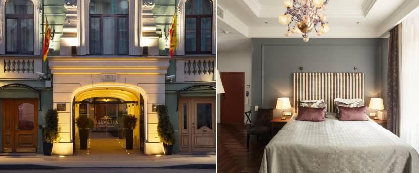 Helvetia Deluxe Hotel em São Petersburgo