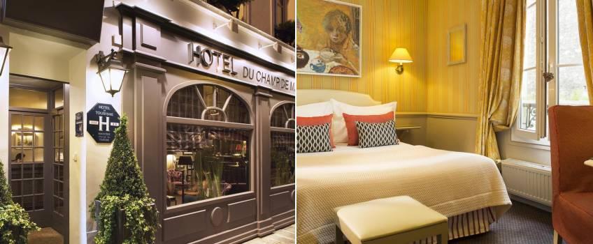 Hotel du Champ de Mars em Paris