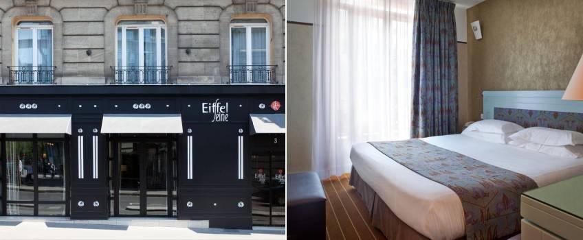 Hotel Eiffel Seine em Paris