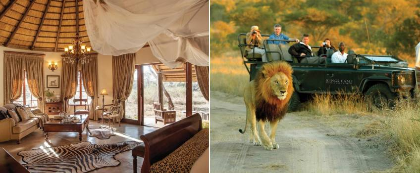 Kings Camp em Kruger Park