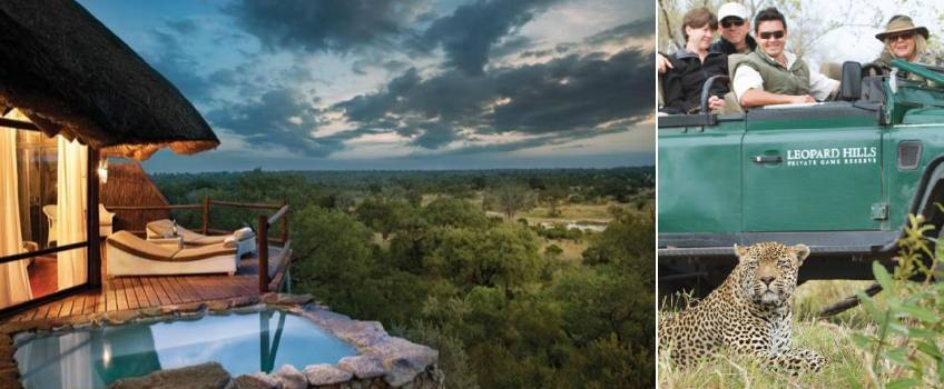 Lodge no Kruger Park: Leopard Hills Private Game Reserve