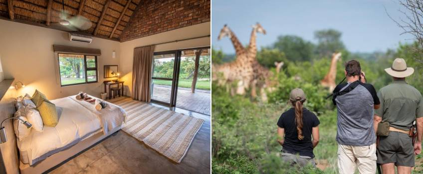 Lodge dentro do Kruger Park: Senalala Luxury Safari Camp