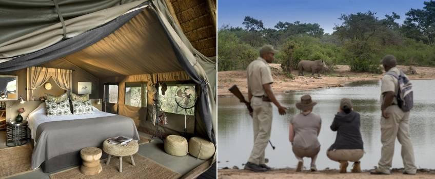 Tanda Tula Safari Camp em Kruger Park