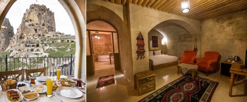 Onde ficar na Capadócia: Caldera Cave Hotel