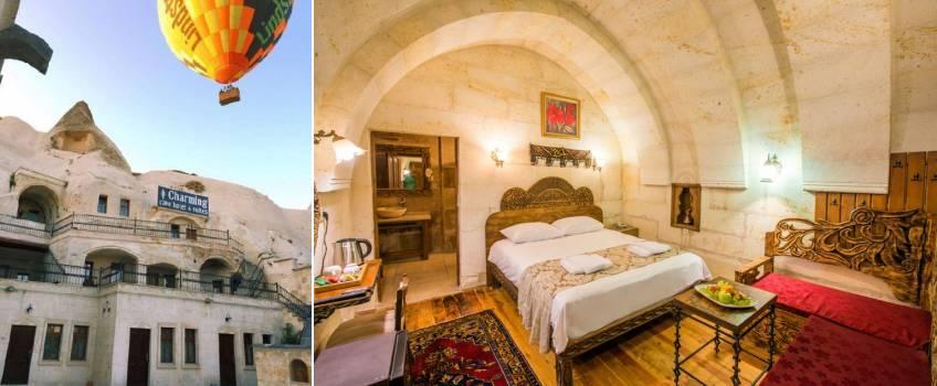 Onde se hospedar na Capadócia: Charming Cave Hotel