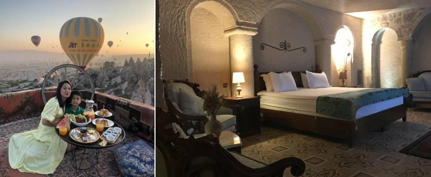Onde se hospedar na Capadócia: Hermes Cave Hotel