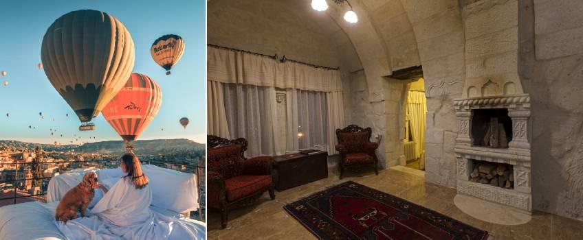 Onde ficar na Capadócia: Mithra Cave Hotel