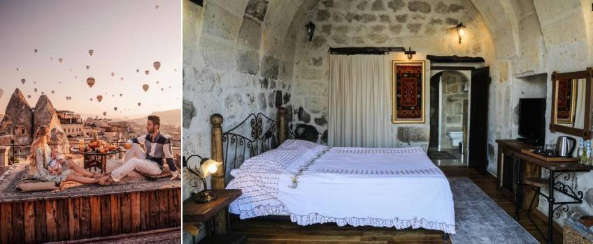 Onde ficar na Capadócia: Sultan Cave Suites