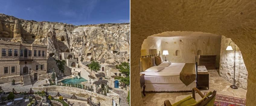 Onde ficar na Capadócia: Yunak Evleri Cappadocia