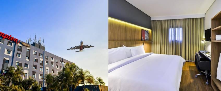 Hotéis No Aeroporto De Guarulhos: Hampton By Hilton Guarulhos Airport