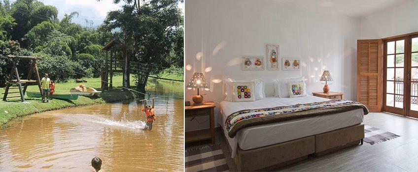 Hotel Fazenda 3 Pinheiros no Interior do Rio de Janeiro