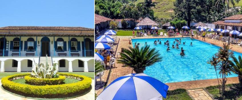 Hotel Fazenda Villa-Forte Em Interior Do Rio De Janeiro