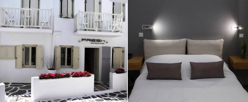 Onde Ficar Em Mykonos: Fresh Boutique Hotel