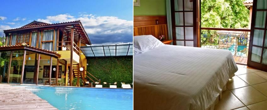 Casa Encantada Hotel And Suítes Em Penedo