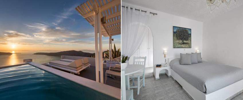 Andromeda Villas And Spa Resort Em Santorini