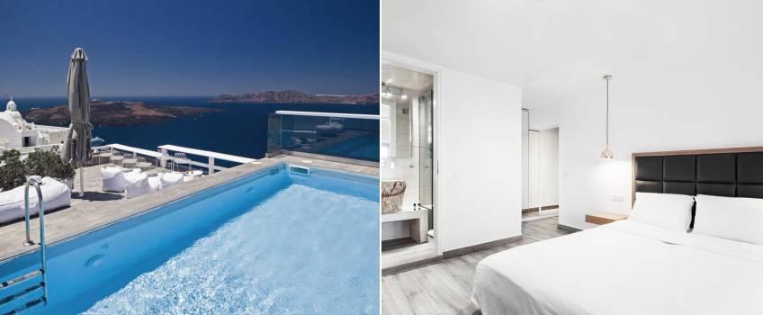 Hotéis Em Santorini: Hotel Thireas