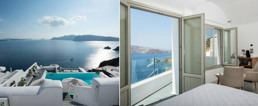 Onde Ficar Em Santorini: La Perla Villas And Suites
