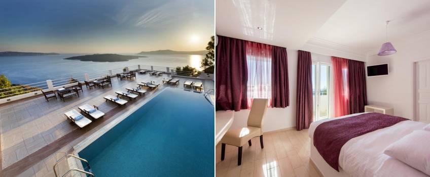 Onde Ficar Em Santorini: Tzekos Villas