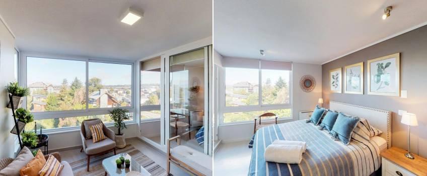 Apartamento Em Puerto Varas: Maravilloso Departamento En Edificio Las Bandurrias
